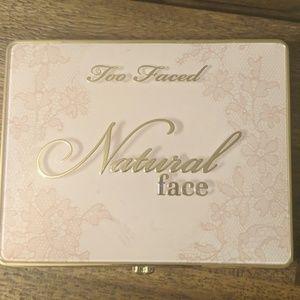 Too Faced Natural Face Highlight, blush, bronze